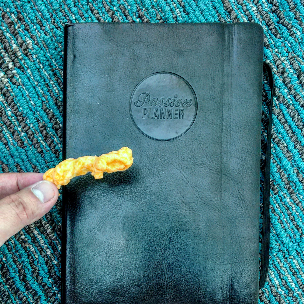 I instagram-ed this photo to claim a bonus prize (yes, that's a cheeto).