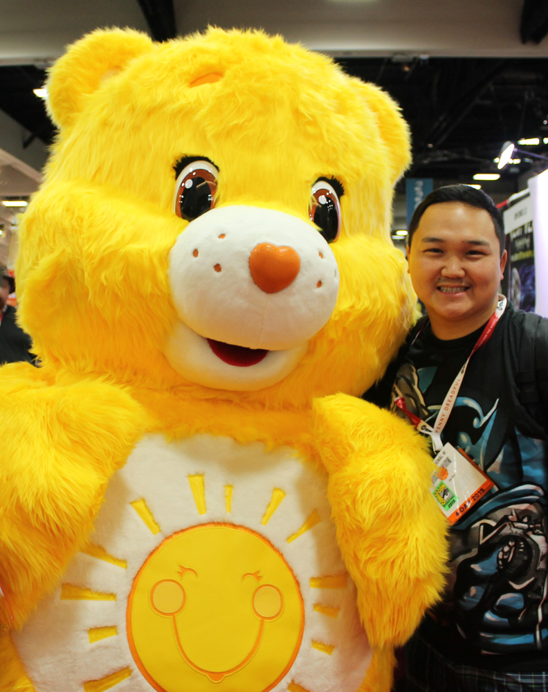 Long time no see  Funshine Bear  :)