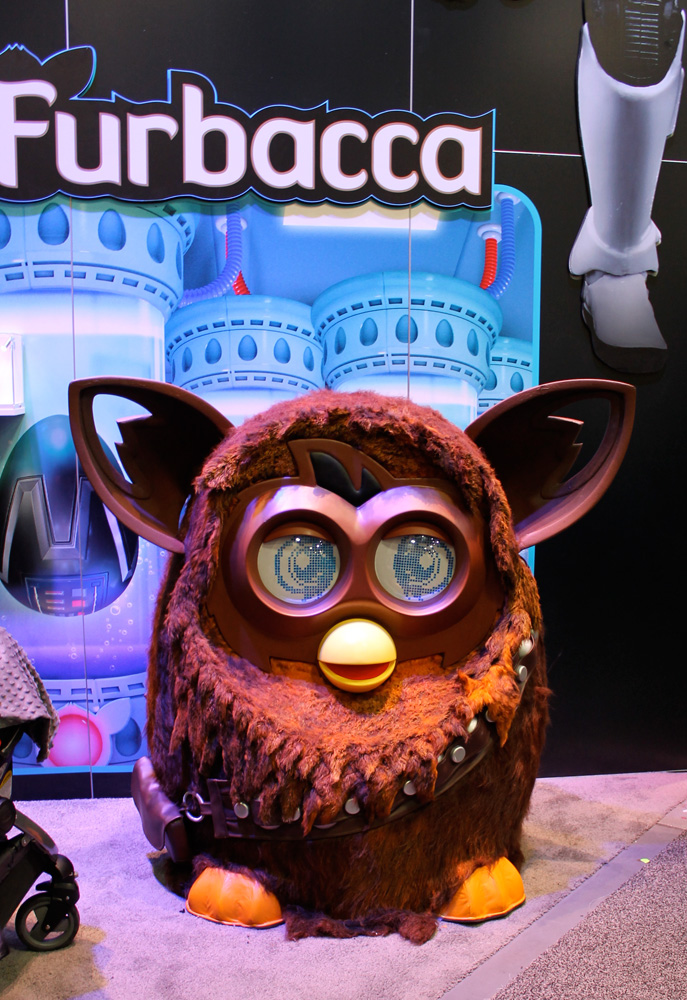 Meet the very disturbingFurbacca, one of manymash-ups that were seen this year.