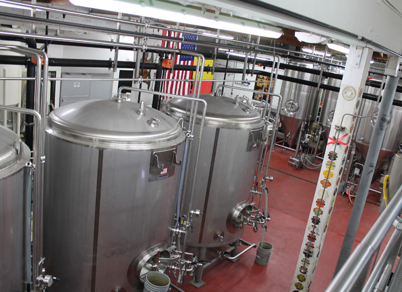 Super clean infrastructure for the operation & production of world-class beer.