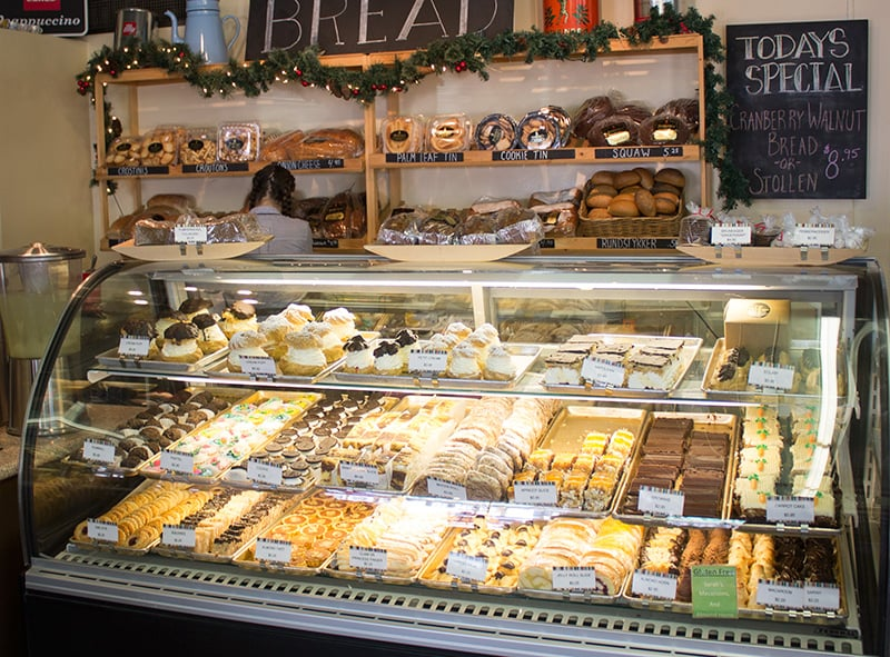 Birkholm's offers a wide variety of baked goods from breads &muffins to cookies & cream puffs.