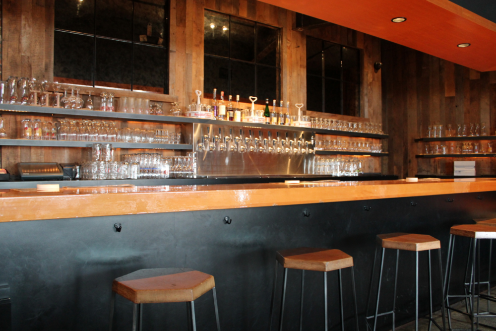 If your thirst outlasts your first drink,there is a bar conveniently placed right alongside the dining area.