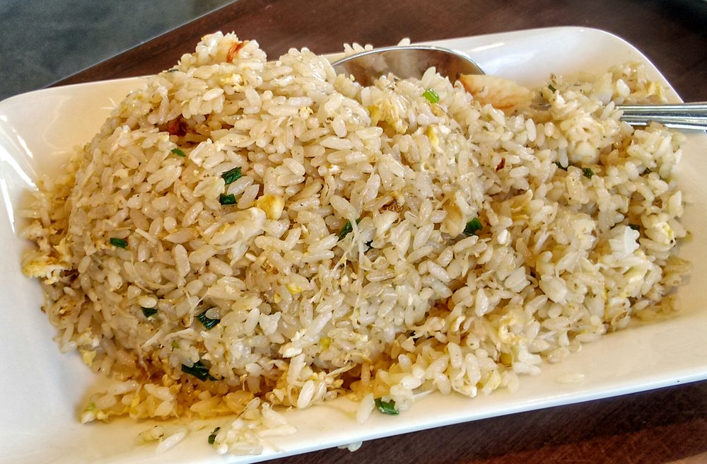 Unfortunately the  Crab Fried Rice  was not amazing. It wasn't easy to pick up any crab flavor, but it was a nice complement with...