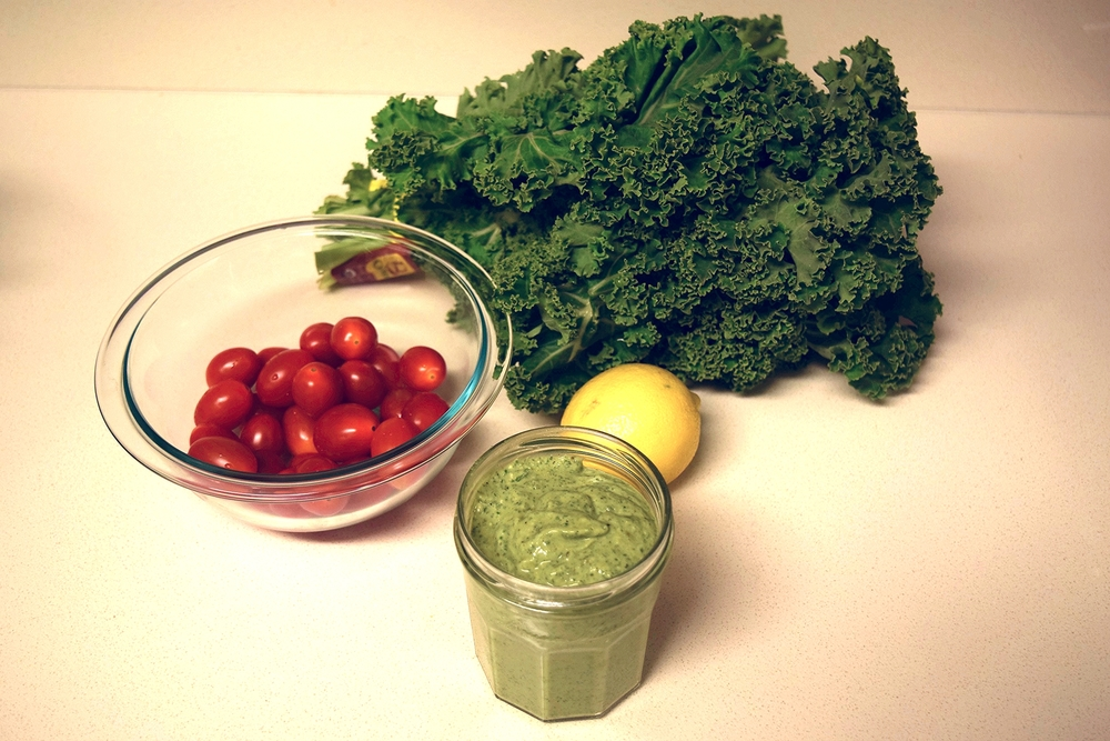 Kale Avocado Pesto Dressing