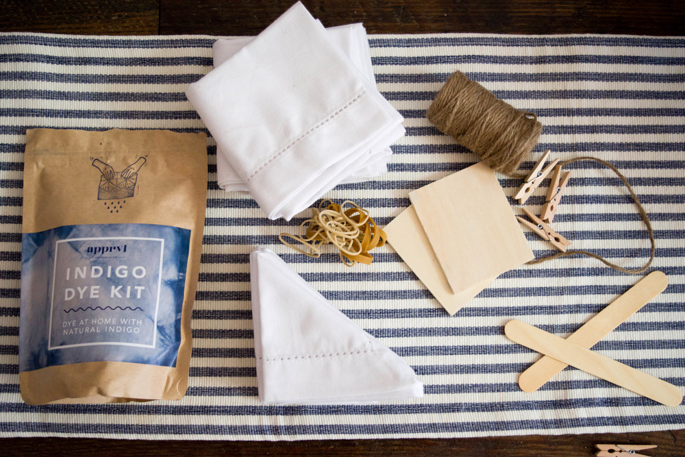 Apprvl Indigo Dye Kit. Available At Grass Roots Juicery.