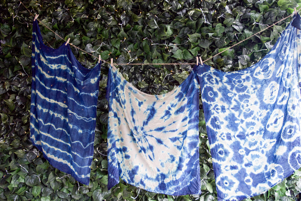 Beautiful dyed linens