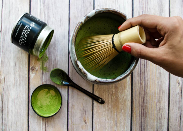 MATCHA TEA RECIPE WHISK PANATEA HOW TO