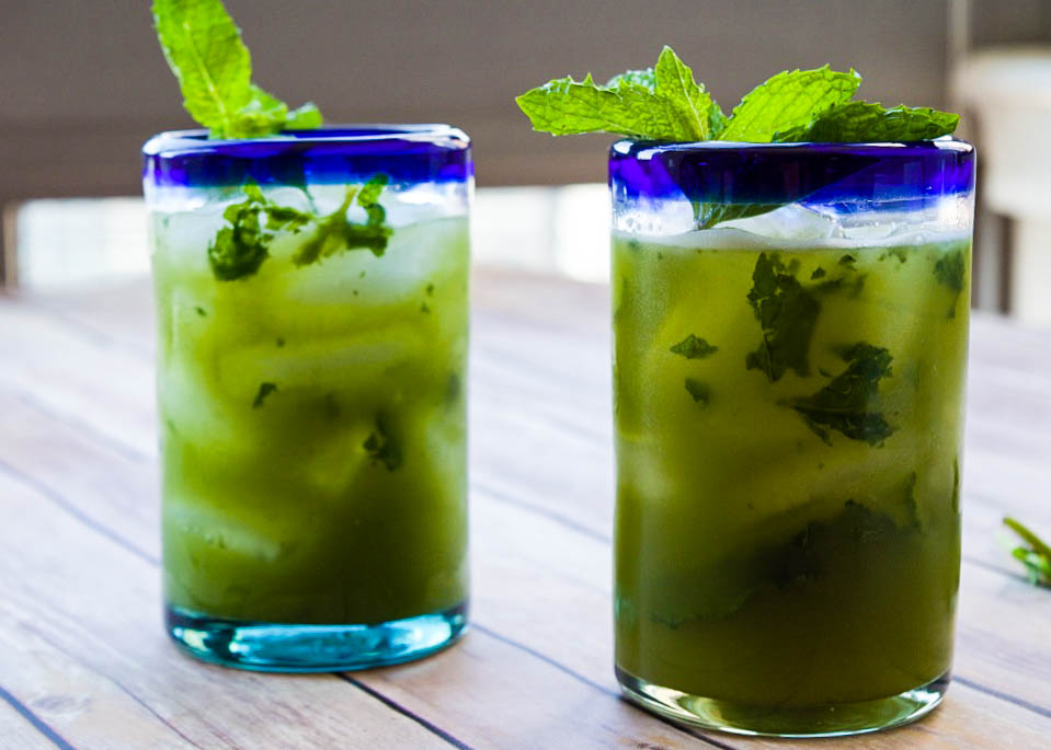 LEMONADE ICED TEA MINT MATCHA RECIPE