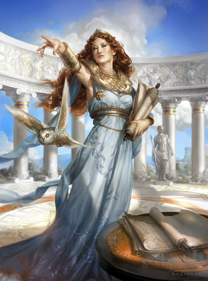 Athena — Cynthia Sheppard Illustration