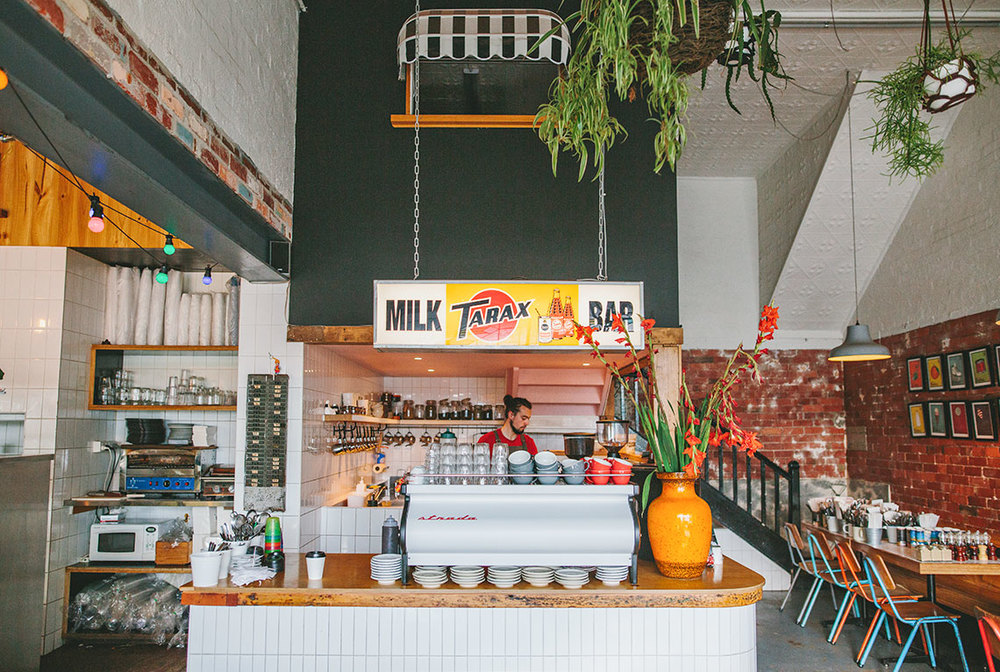 Fordham Milk Bar Interior