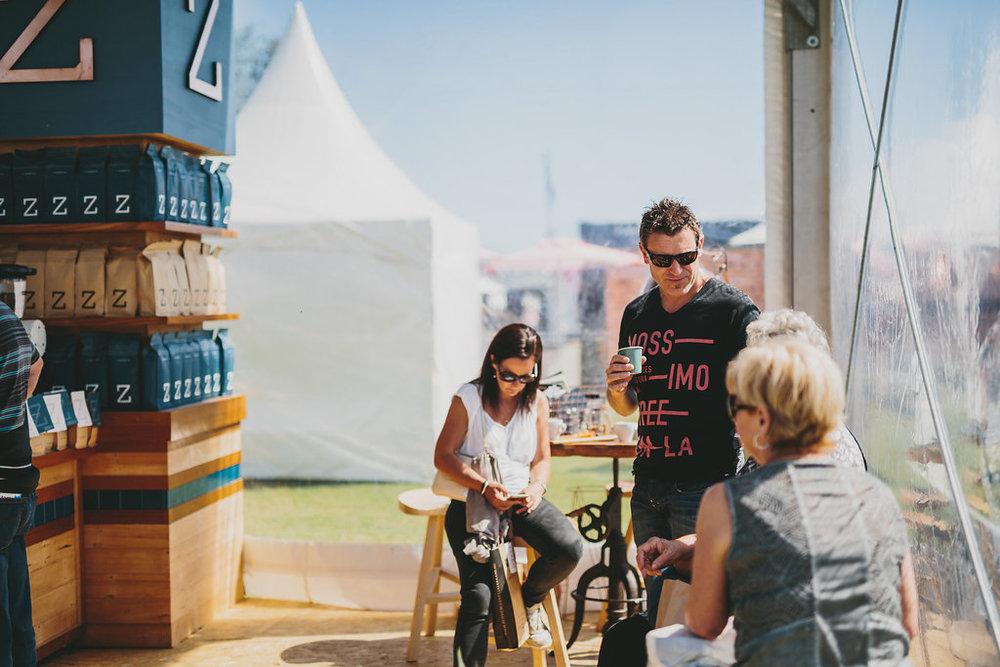 Enjoying The Experience Melbourne Taste Festival