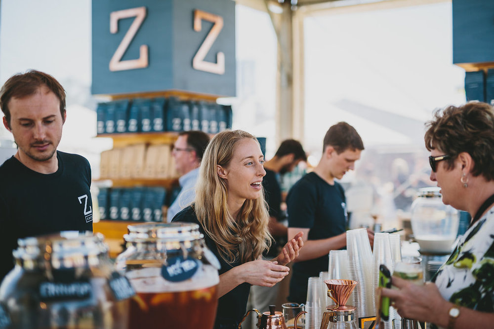 Zest Specialty Coffee at Taste of Melbourne Festival