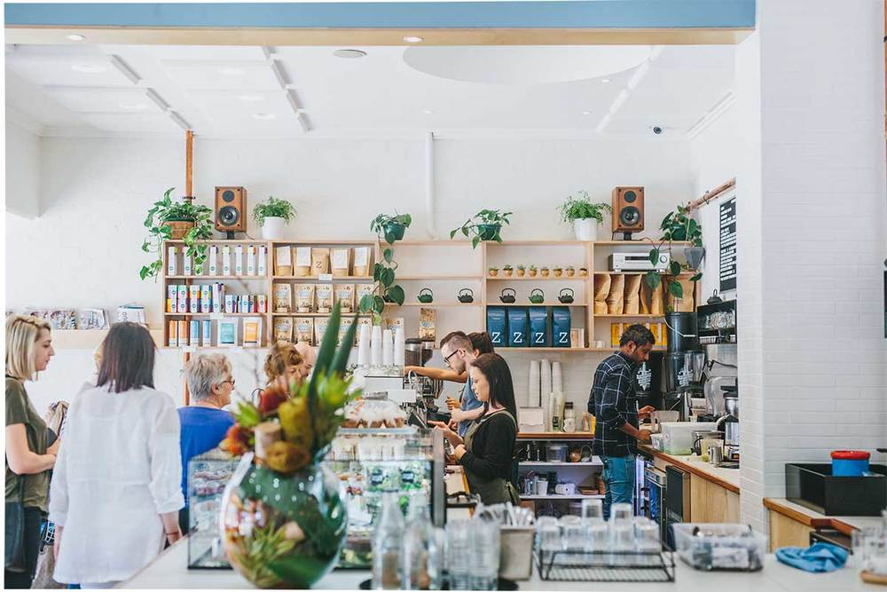North & Eight Cafe Interior