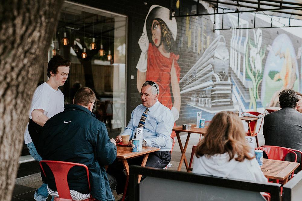 Harvest Blend Cafe Exterior