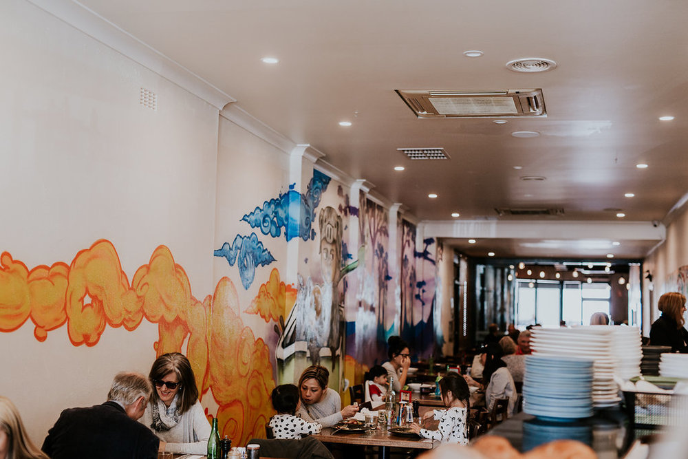 Nomadic Cafe Interior