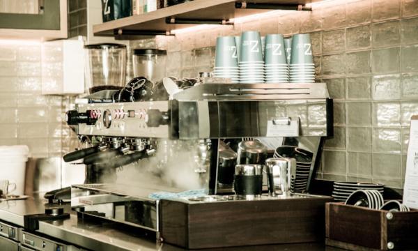 Artista Cafe La Marzocco Machine