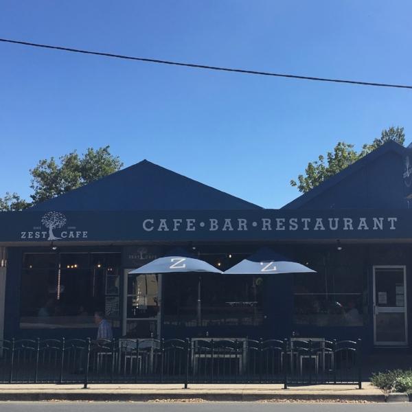Zest Cafe Exterior