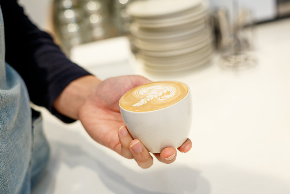 Duo Tone Zest Specialty Coffee Melbourne Latte Art