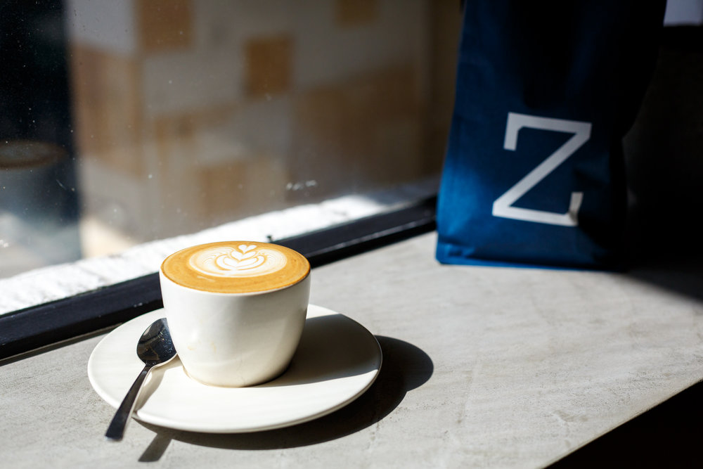 Duo Tone Zest Specialty Coffee Latte Art