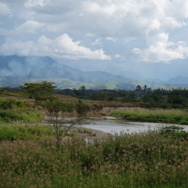Wahgi Valley Western Highlands, PNG