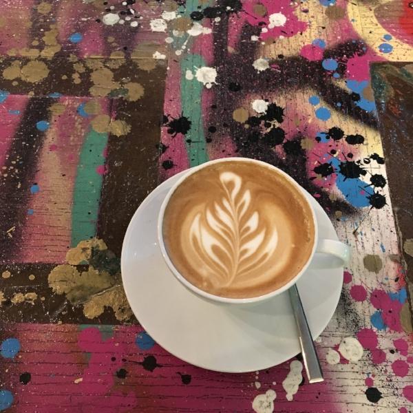 Latte Art Zest Specialty Coffee She Bangs Cafe