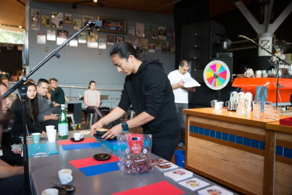 UOW Latte Art and Barista Competitor