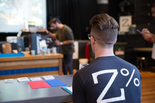 Zest Specialty Coffee At The Barista And Latte Art Smackdown