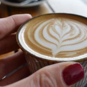 Soy Latte Coffee Art