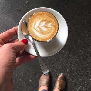 Coffee Art Soy Latte