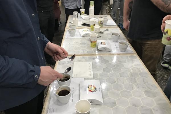 Project Raggiana Microlot Coffee Tasting