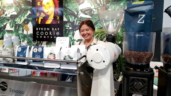 Byron Bay and Zest Specialty Coffee at Fine Foods Australia