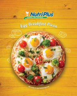 Egg Breakfast Pizza