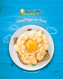 Cloud Eggs On Toast