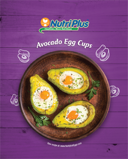 Avocado Egg Cups