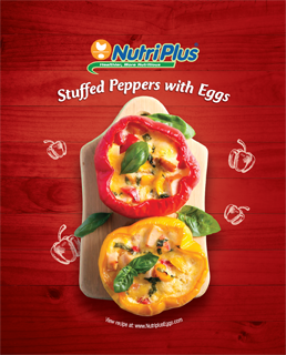 Stuffed Peppers With Eggs