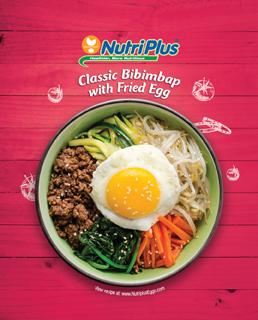 Classic Bibimbap With Fried Egg