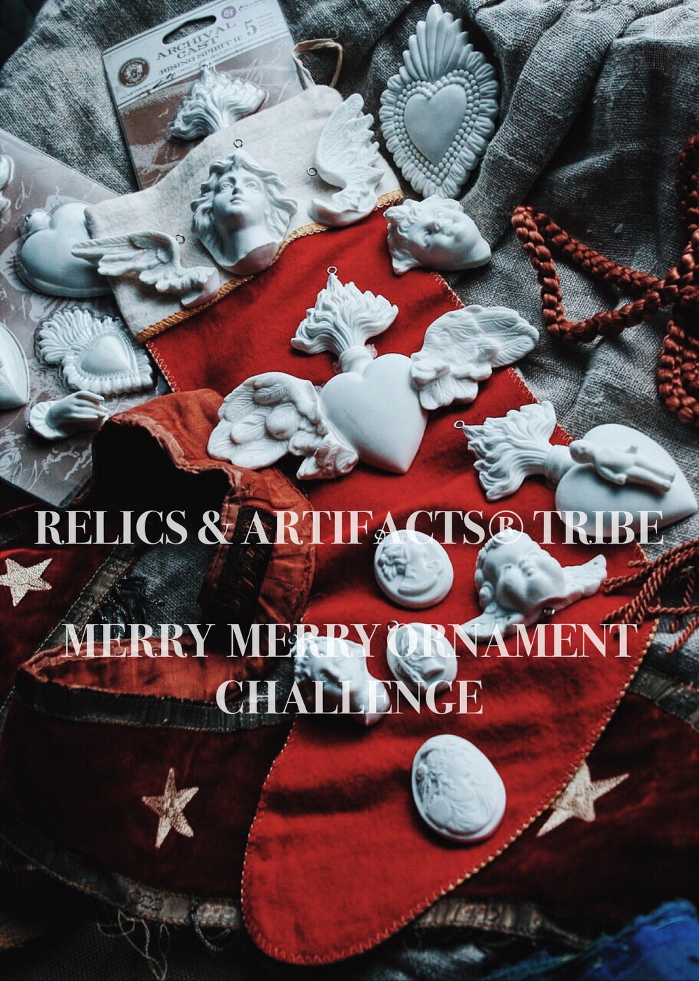 RELICS & ARTIFACTS® Tribe | Merry Merry Ornament Challenge