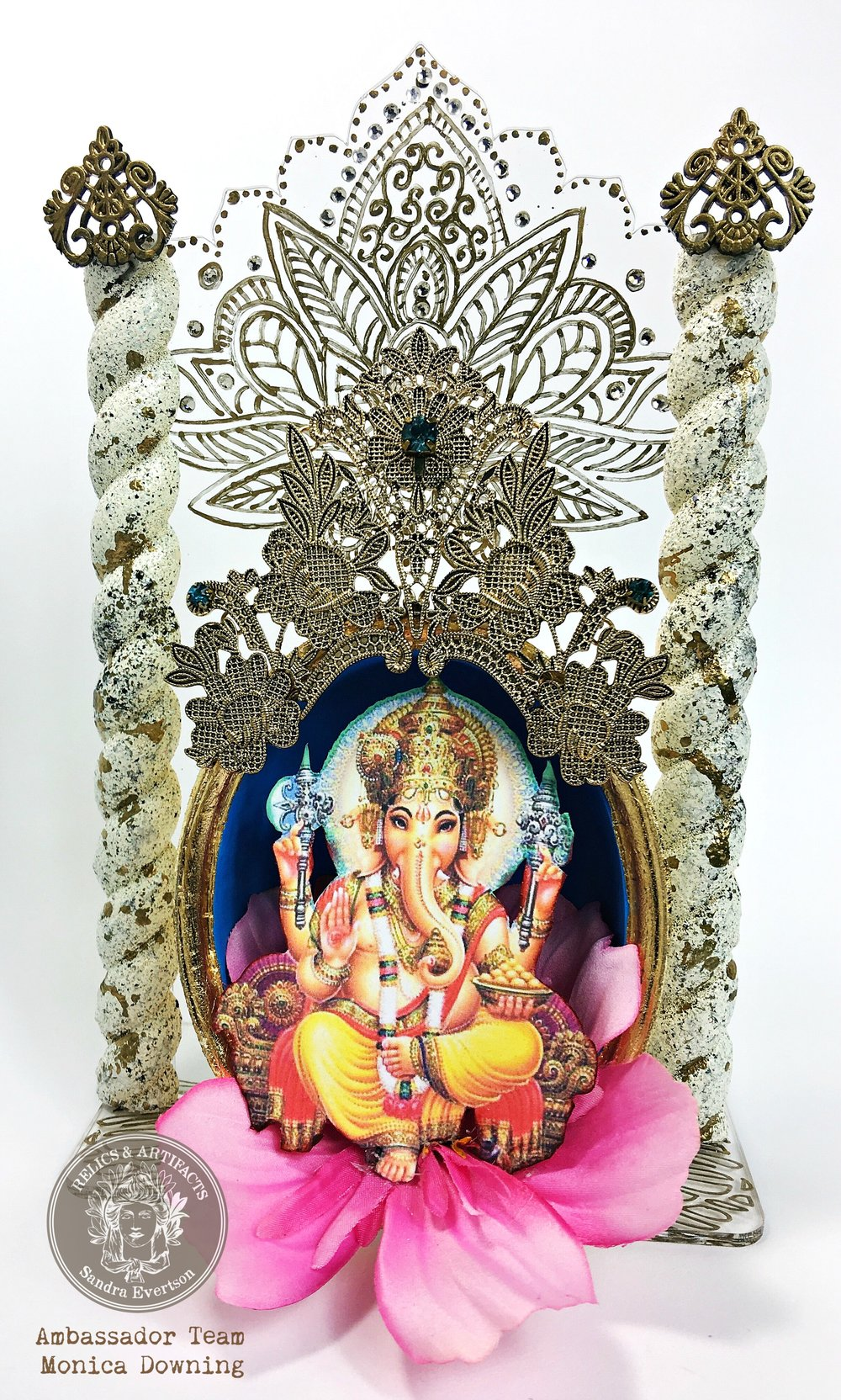 "Day 3:  ""Ganesha"" by Monica Downing"