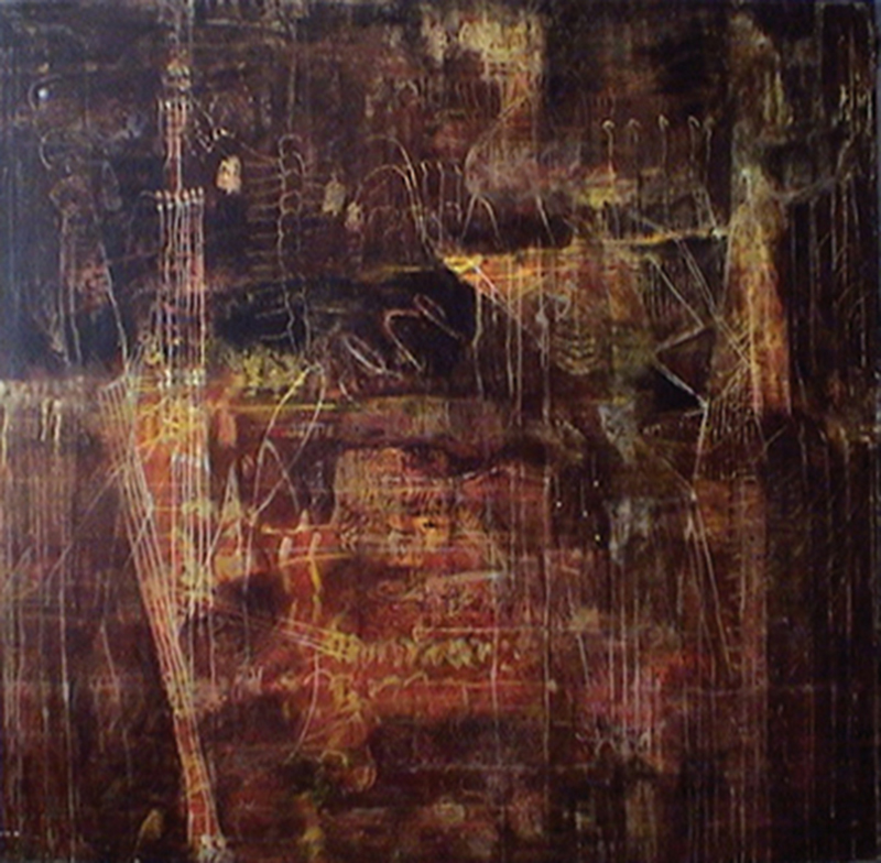 Entropy Matrice Tina Douglas | 1675 x 2000mm | Egg tempera on canvas | Place Gallery, Melbourne | 2004 | Private Collection