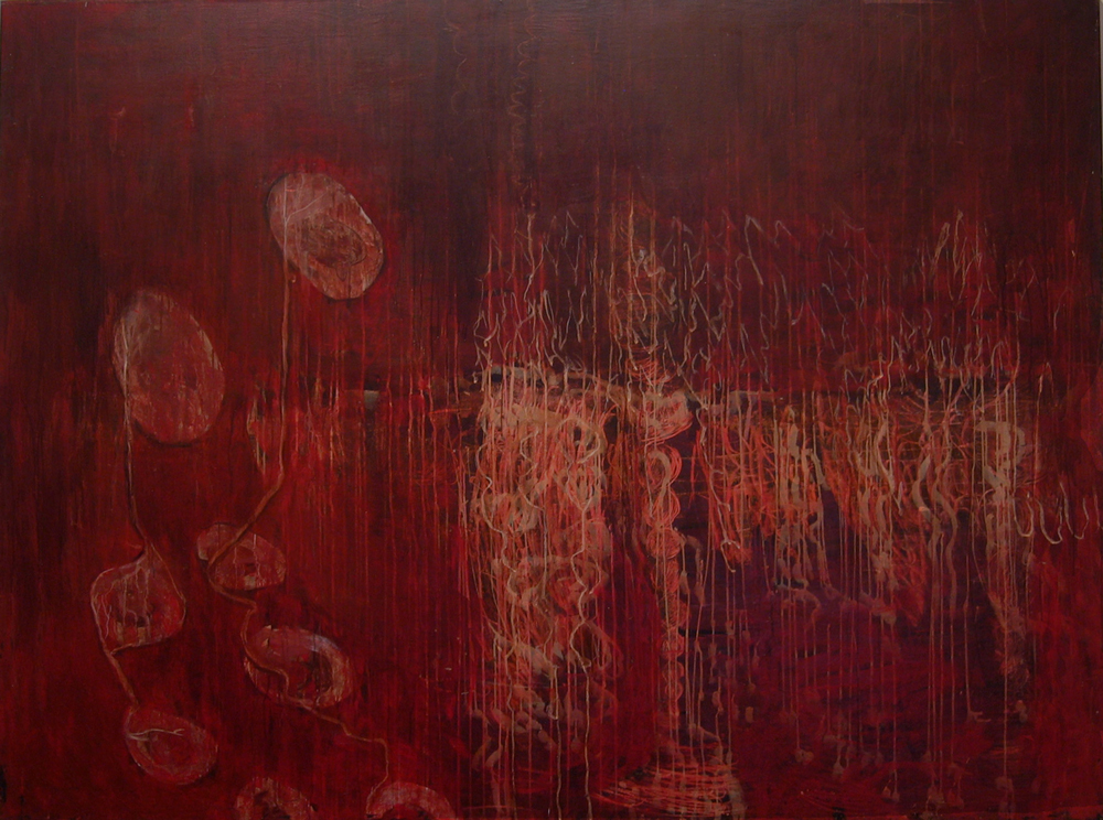 Painting 2 | Tina Douglas | 2006 | Egg tempera on canvas | 137 x 183 cm | Place Gallery | Melbourne | 2009