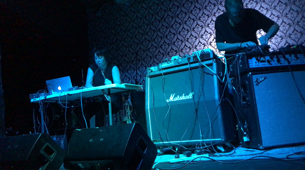 Tina Douglas & David Prescott-Steed, Powered By Steam 3, The Last Chance Rock & Roll Bar, North Melbourne.