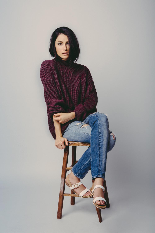 Denim: Madewell / Sweater: J Brand / Shoes: Aldo