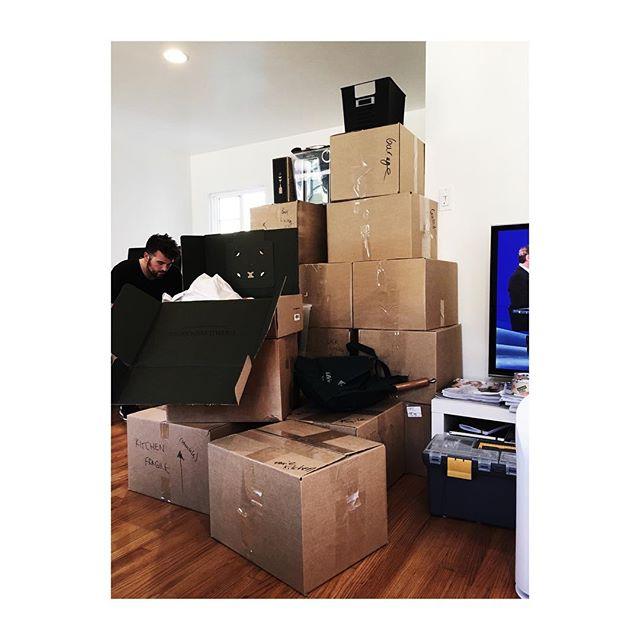 Saturday. Bored of boxes so taking photos. #whereswally #wheresbrandon #housemove #weekend