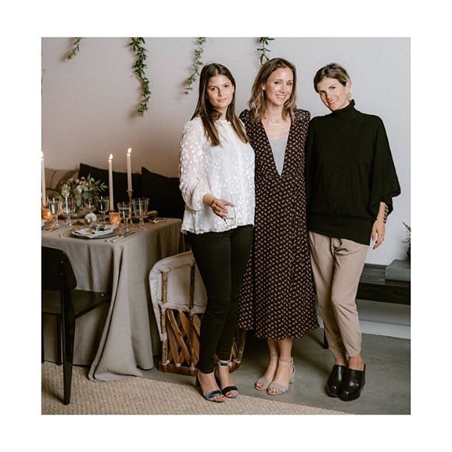 #tbt to warm winter dinners with @thechalkboardmag @hautechefsla and @howyouglow 📸 @suzanne_hll ❤️#tcm #tcmlivingwell