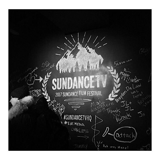 Regram @noblemedia.co ... we've only just begun. It's been a great opening of the #sundancefilmfestival with #TheHollywoodReporter and Sundance TV tonight in Park City... more to come.