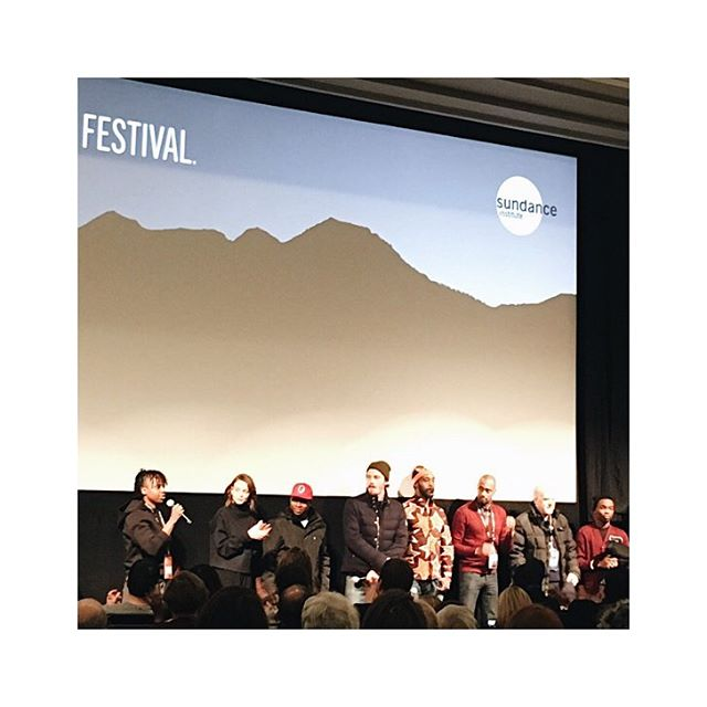 Yesterday I saw #Mudbound one of (if not the) best film of #Sundance - and probably one of the most powerful films I've ever seen. So relevant today. Plus great Q&A with director and cast - Dee Rees, Carey Mulligan, Jason Mitchell, Garrett Hedlund and more. #aspirationfilmmaking #livenoble
