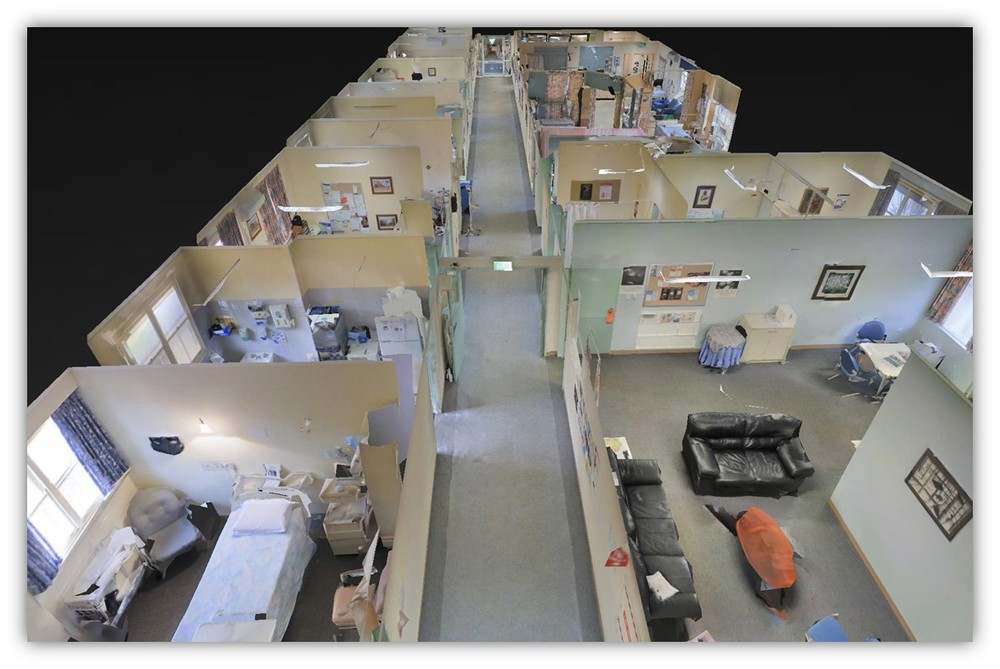 Narrogin Hospital Ward - 3D View