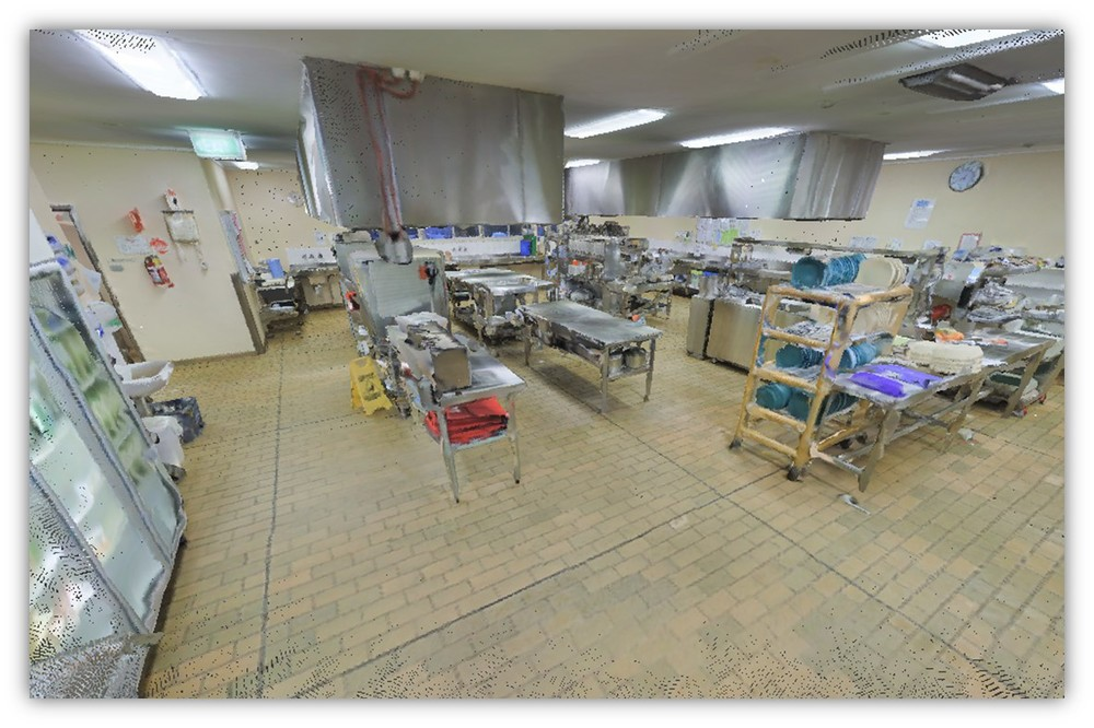 Narrogin Hospital Kitchen - Point Cloud