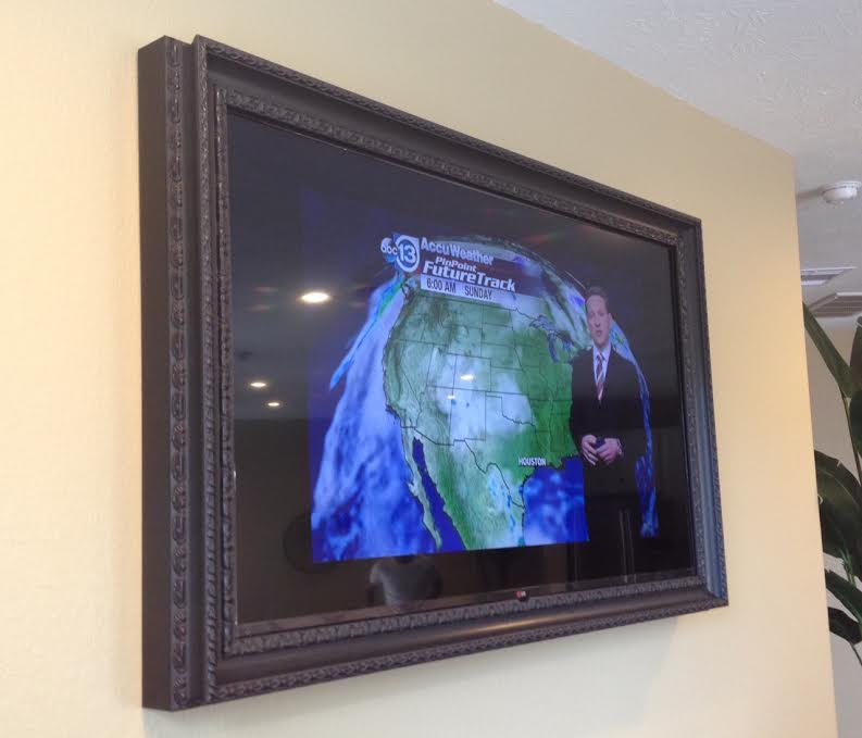 Custom TV framing