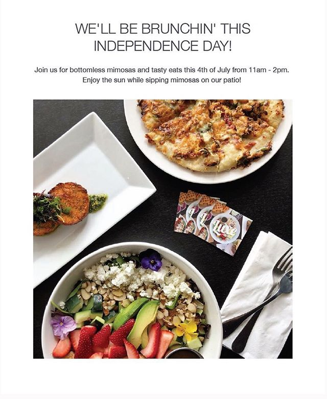 Happy Fourth everyone! Open tomorrow, 11am-2pm for brunch. #luxerestaurant #eatatluxe #luxevanwa #brunch #mimosas #discovervanusa #vanwa #pnw #fourthofjuly #holiday
